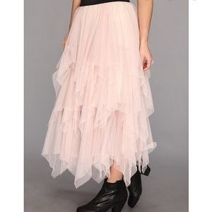 Free People Layered Tulle Skirt